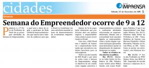 semana do empreendedor- imprensa